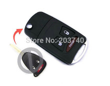 5pcs/lot,Good Quality New for Chrysler Key Shell for JEEP Remote Key Case Fob