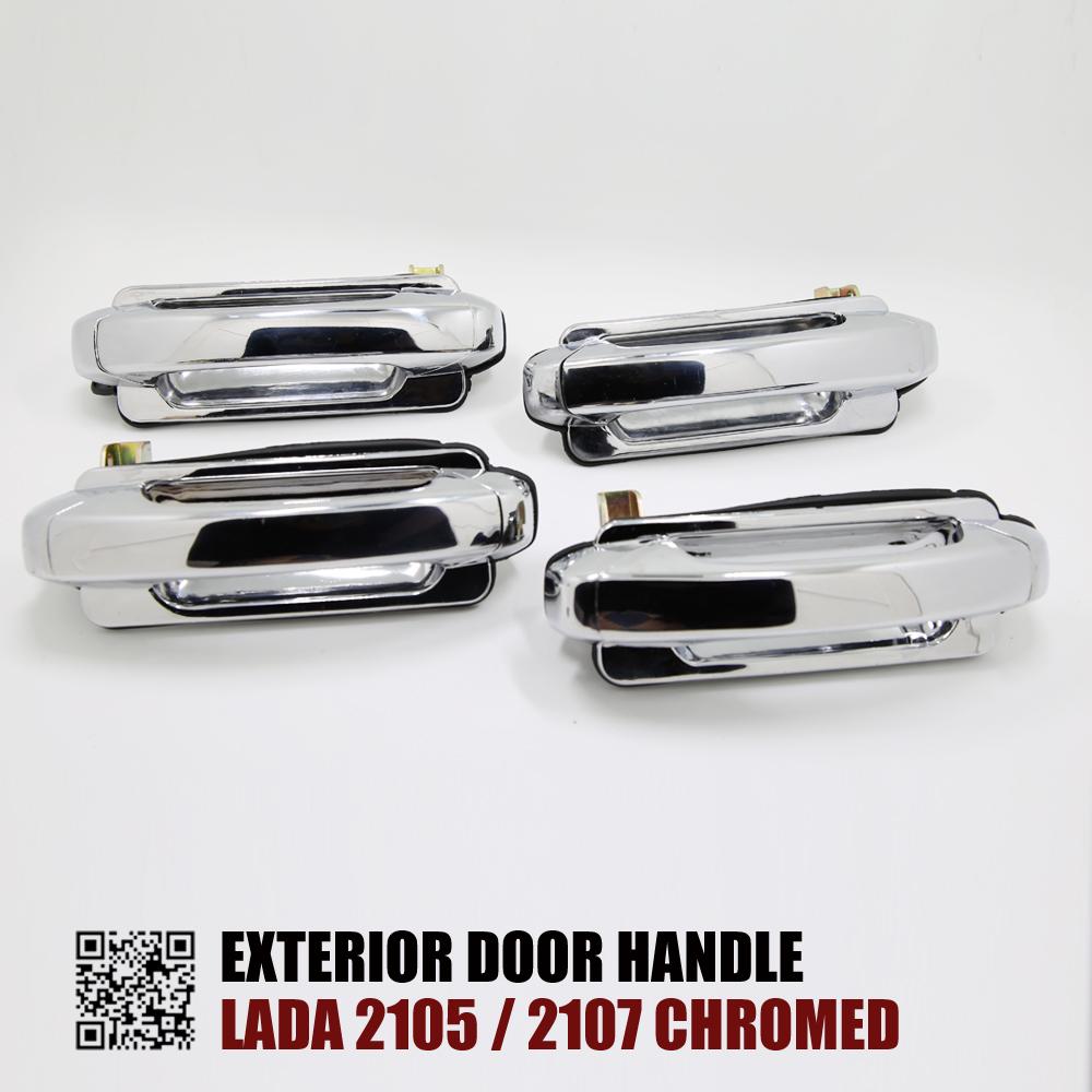 4PCS A CAR SET EXTERIOR DOOR HANDLE FOR LADA 2105 LADA 2107 In Exterior Door