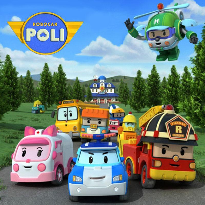 Robocar Poli Toy Transformation Robot Car Toys Poli