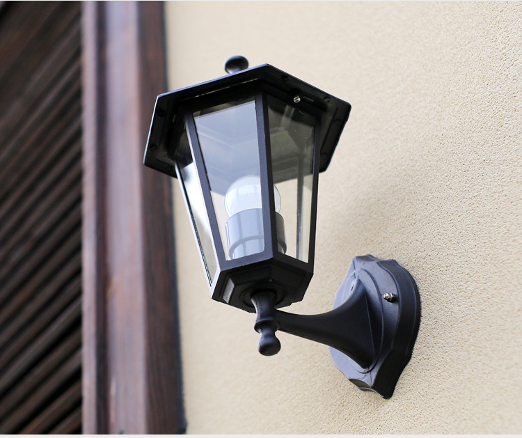 Black/Bronze/White Outdoor Vintage/Modern wall lamp fashion outdoor lamp waterproof porch lights ...
