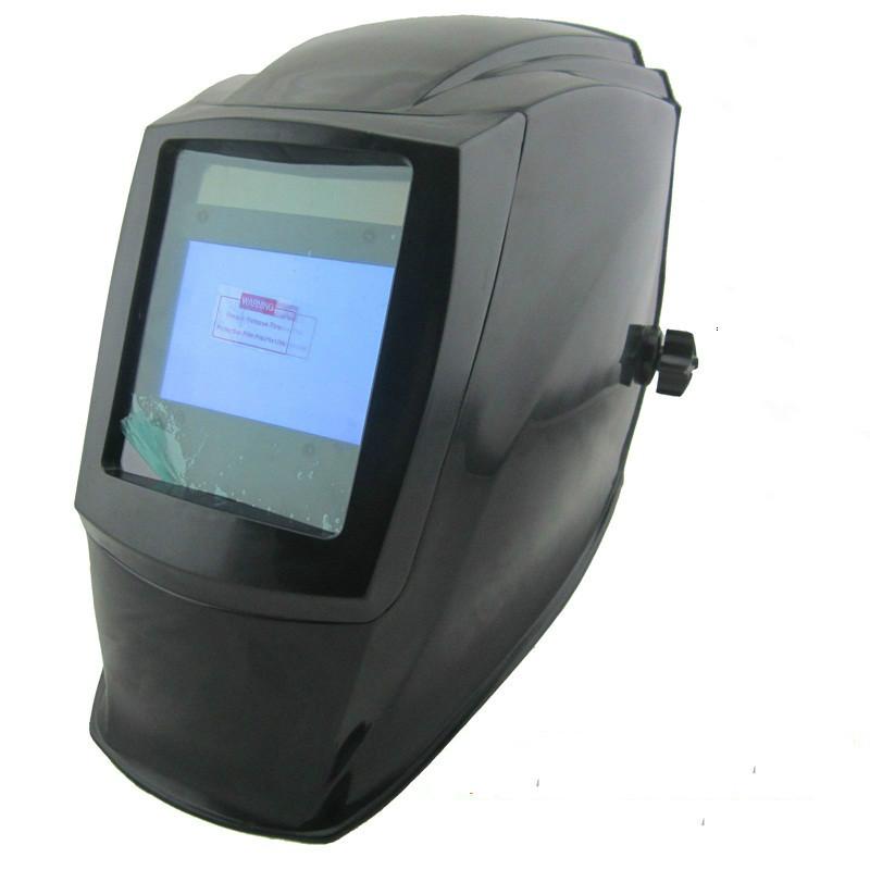 4 Arc Sensor Welding Helmet Solar Auto Darkening with Big Wiew Eara TIG MIG ARC MMA MAG Electric Welder Welding Cap Mask(China (Mainland))