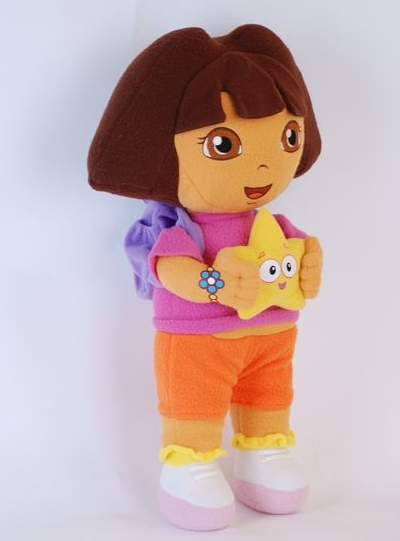 Hot sale ! soft Dora Plush/Stuffed toy the Explorer with star Plush ...: http://www.aliexpress.com/item/Hot-sale-soft-Dora-Plush-Stuffed-toy-the-Explorer-with-star-Plush-Dolls-Toy-for-girl/2024811104.html