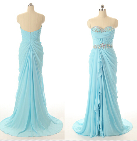 turquoise cheap formal party green beautiful women long real picture chiffon off the shoulder ewvening dresses dubai gowns china(China (Mainland))