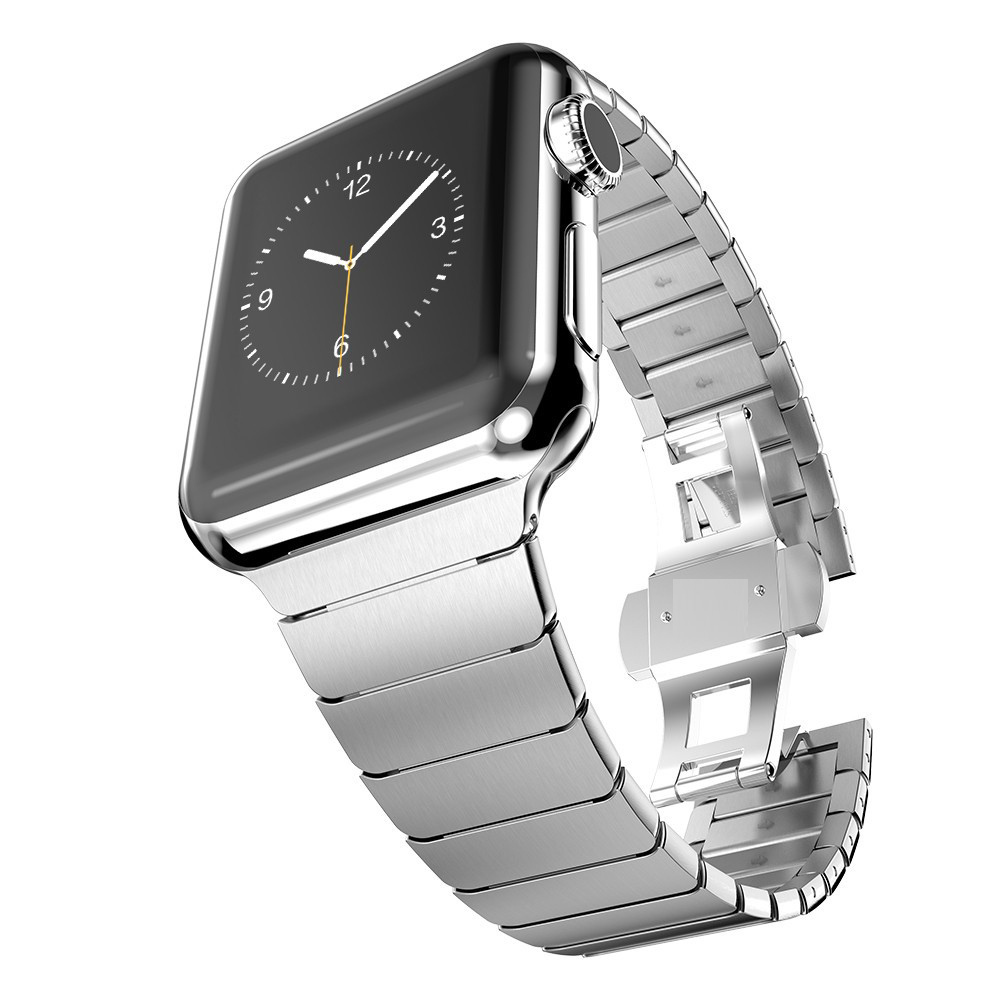 band for apple watch link bracelet 1:1 copy 316L stainless steel watchband for iwatch 42mm(China (Mainland))
