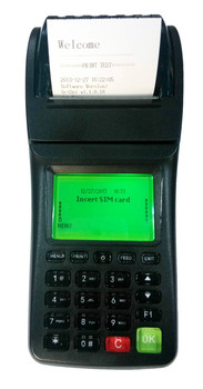 Handheld pos thermal printer , GPRS SMS two ways for remote orders/messages