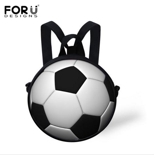 Новый Небольшой 3D Футбол Мешок Школы для Мальчиков Дошкольного Baby Дети Детский ...