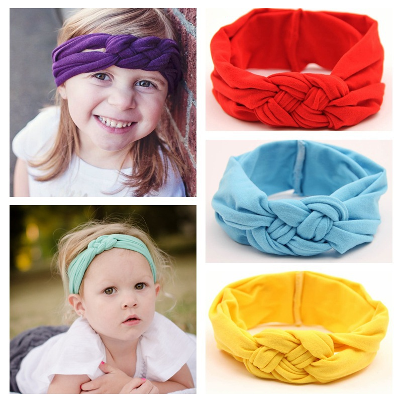 Baby Girls Cotton Headwrap Sailor Knot headwrap Knotted Head Band / Wrap, Toddler Girl Turban Headband 9pcs/lot Free Shipping Одежда и ак�е��уары<br><br><br>Aliexpress