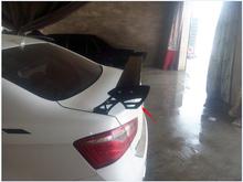 Стиль GT легкий алюминиевый задний багажник гонки спойлер / крыло / палуба + кронштейн