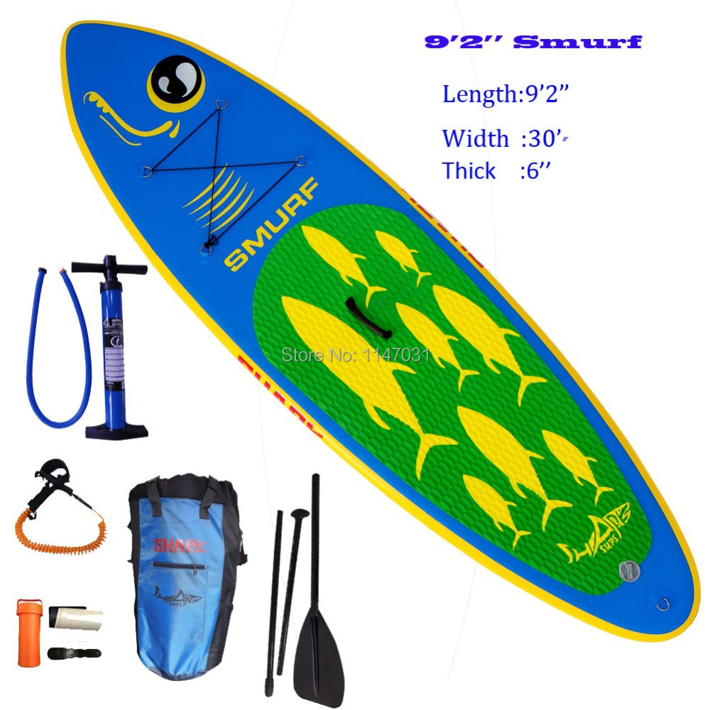 Alley Designs Stand Up Paddle Boards : New design shark sups quot roll up inflatable sup board