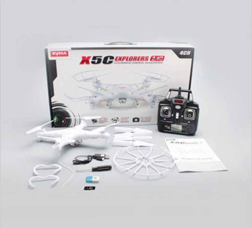 RC Helicopter Quadrocopter X5C 1 2 4G 6 Axis Gyro Aerial RC Quadcopter Photography Drones With