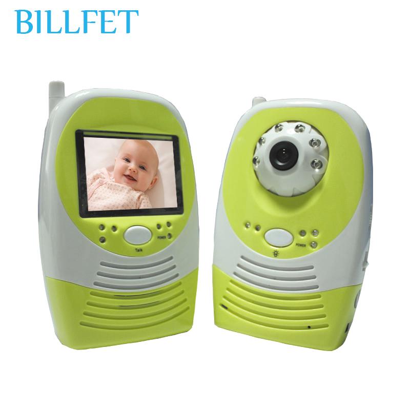 2 way 2.4GHz LCD Digital Wireless Video Baby Monitor night camera with monitor Kids Nanny baba eletronica Audio Sensor moniteur(China (Mainland))