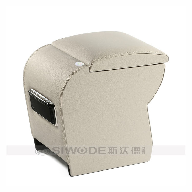 free punch special wooden leater car hand box for KIA RIO Hyundai Accent armrest luxurious armrests<br><br>Aliexpress