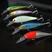 Hot 2015 fishing tackle lure Mixed models 5 color Minnow lure,Popper lures,Crank Lures,Mix bait Set - Colorful elements store