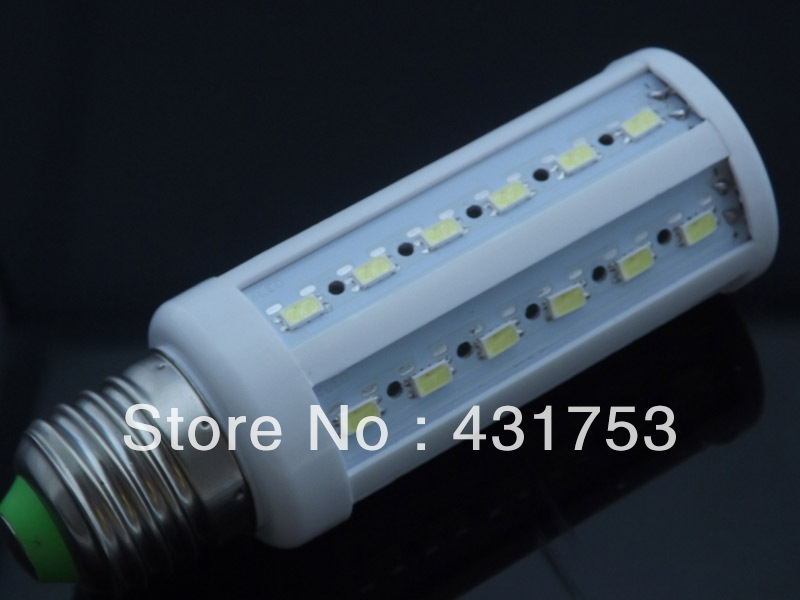 12W E27 B22 E14 44LED 5630 SMD 110V / 220V LED Corn Bulb 360 Degree Light LED Bulb Lamp CE&RoHS certificated (Free shipping)(China (Mainland))