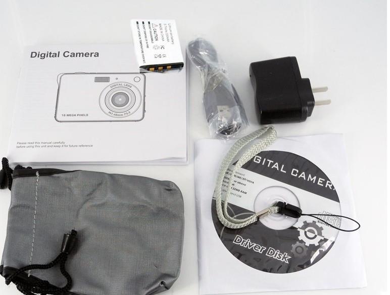 Mini Cheap Digital Camera 16 0 Mega pixels 3MP CMOS Sensor 4x Digital Zoom Rechareable Lithium