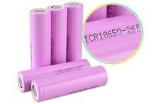 1PCS New 18650 lithium battery  2600mAh 3.7v Rechargeable Li-ion  Battery(China (Mainland))