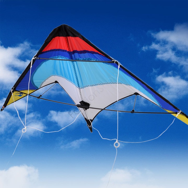 "Drop Shipping Hot 55"" Sport Dual Control Stunt Kite Fun To Flying Parent-Child Activities Factory Outlet 38(China (Mainland))"