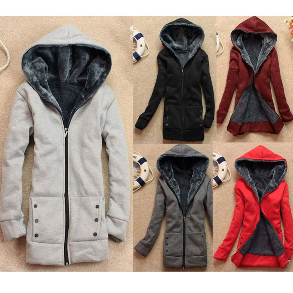 2016 New Spring Winter Women Hoodies Wool Zipper Fur Warm Coat Ladies Casual Slim Sweatshirts Fleece Jacket 9012 - RUIYIGE Official Store store