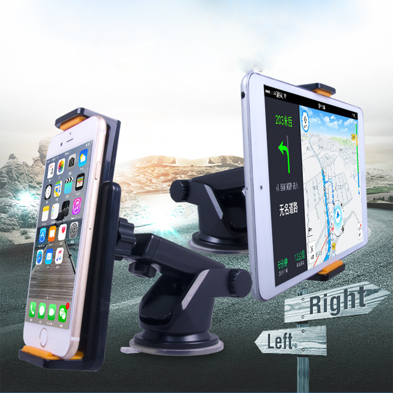 Suporte Mobile Phone Car Windshield Glass Surface Suction Cup Holder Mount Bracket For iPhone Mini Ipad Xiaomi GPS(China (Mainland))