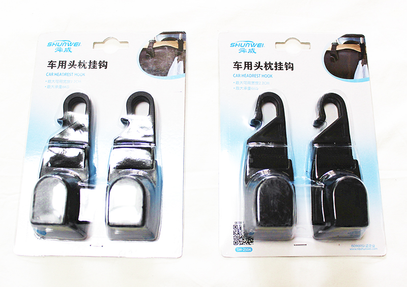 Car Seat Hooks Hanger for Jeep Wrangler Compass Patriot Grand Cherokee JCUV 2-4pcs/lot Headrest Bag Hook Useful Gadget for Cars