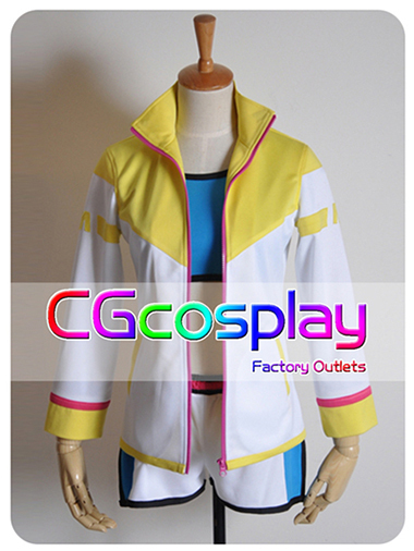 Free Shipping Cosplay Costume Vocaloid MIKU Sportswear New in Stock  Retail / Wholesale Halloween Christmas PartyОдежда и ак�е��уары<br><br><br>Aliexpress