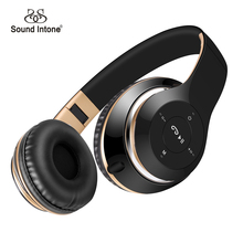Sound Intone BT-09 Bluetooth Headphones Wireless Stereo Headsets earbuds with Mic Support TF Card FM Radio for iPhone Samsung(China (Mainland))