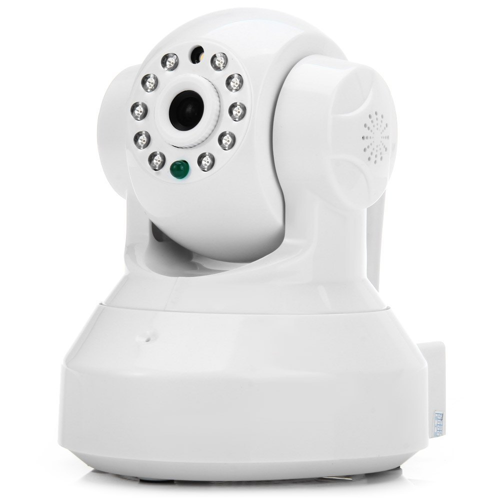 E6810 1.0MP H.264 Wireless Indoor IP Camera Support TF Card with Pan-Tilt Alarm Function 100 ~240V S118260801(China (Mainland))