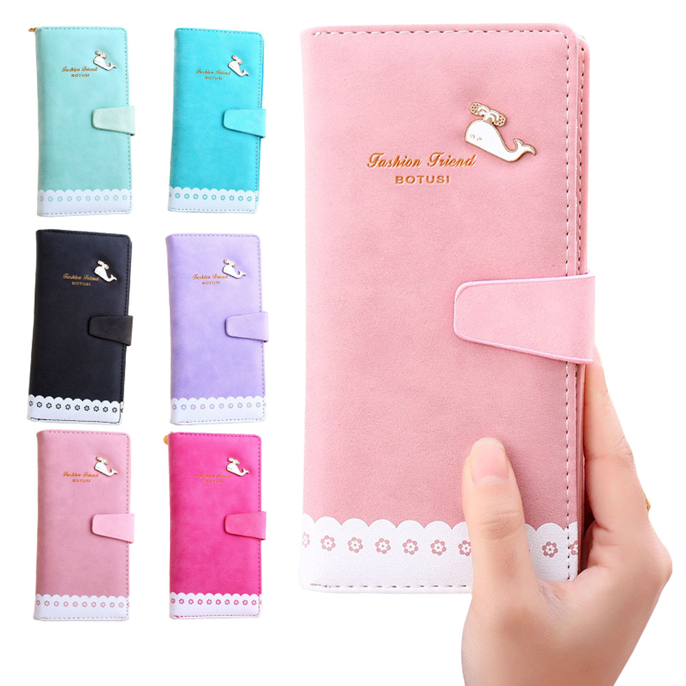Women Wallet Fashion Small Dolphin Lady Clutch Popular Wallets Sweet Change Purse Delicate Fresh Girl Card Holders HB88(China (Mainland))