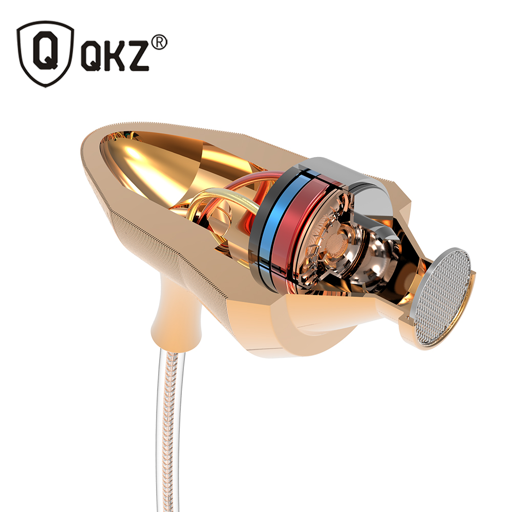 Earphone QKZ DM5 Stereo BASS Metal in-Ear Earphone Noise Cancelling Headset DJ In Ear Earphones HiFi Ear Phones Metallic Earbuds(China (Mainland))
