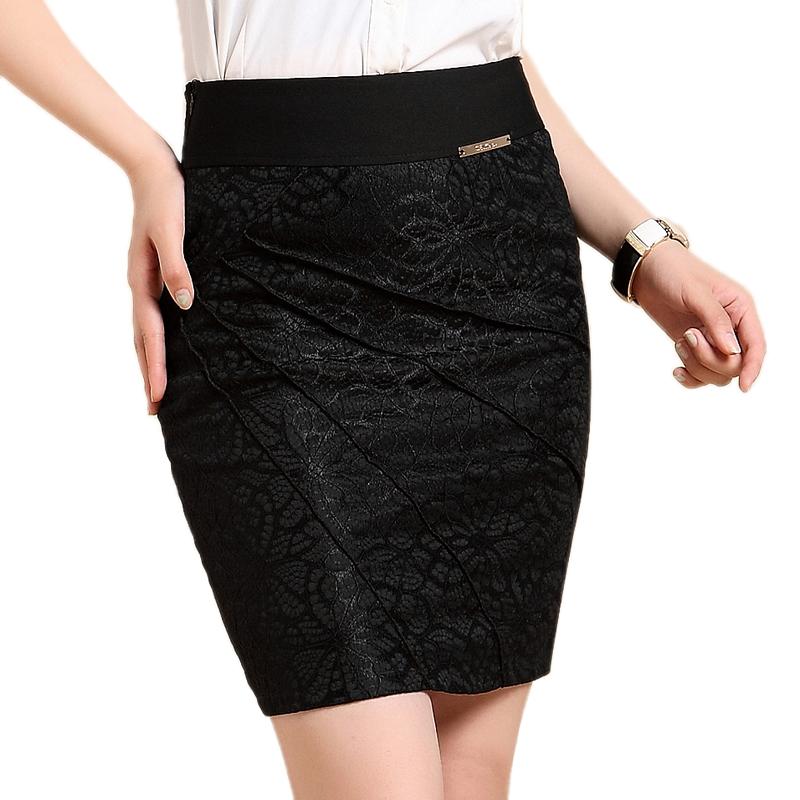 Free Shipping Women 2015 Autumn Winter Fashion Knee skirt ...