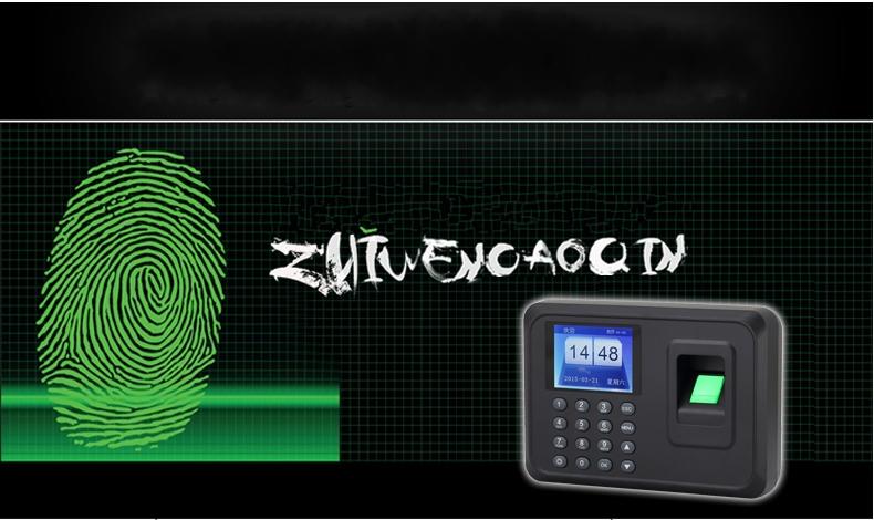 fingerprint identification clock fingerprint attendance fingerprint fingerprint punch card machine you can Use English version