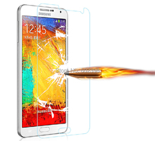 Amazing 9H 0.3mm 2.5D Nanometer Tempered Glass screen protector for Samsung Galaxy A5 A500 A5000 A500G