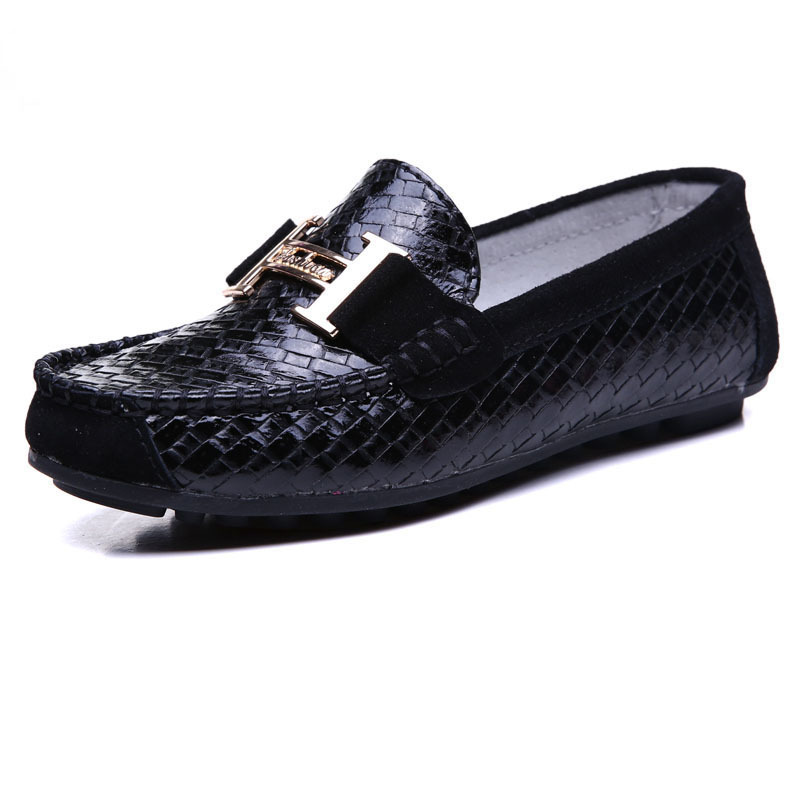 New Fashion 2015 Leather Loafer Shoes Causal Flat Style For Boys Girls Breathable Summer ...