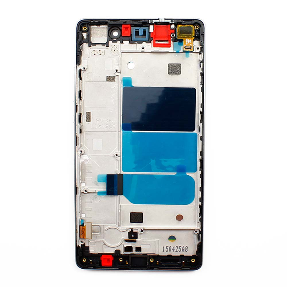 10pcs/lot White P8 lite LCD Display + Touch Screen Digitizer With Frame Assembly Replacement For Huawei Ascend P8 lite