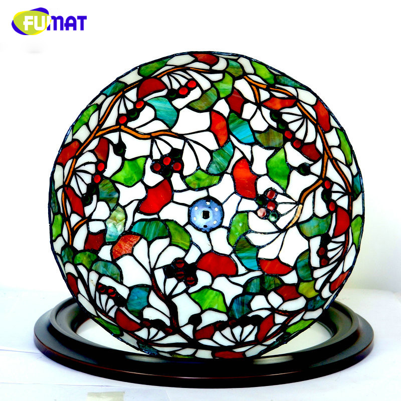 Tiffany Ceiling Lamp LED Ginkgo leaf Ceiling Lamp Elegant Classic Stained Glass Lamp Living Room Hotel Restaurant Lamp(China (Mainland))