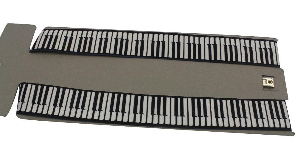 3,5 см широкий вилочная часть клип - на Y - задняя часть регулируемый пианино клавиатура принт скобки лямки для мужские человек