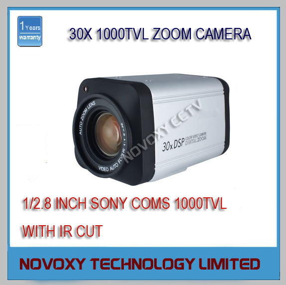 1/2.8 inch Sony CMOS Sensor 1000TVL 30x Optical 3~90mm Varifocal Lens WDR HLC DNR Integrated Security CCTV Zoom Camera - NOVOXY TECHNOLOGY LIMITED store