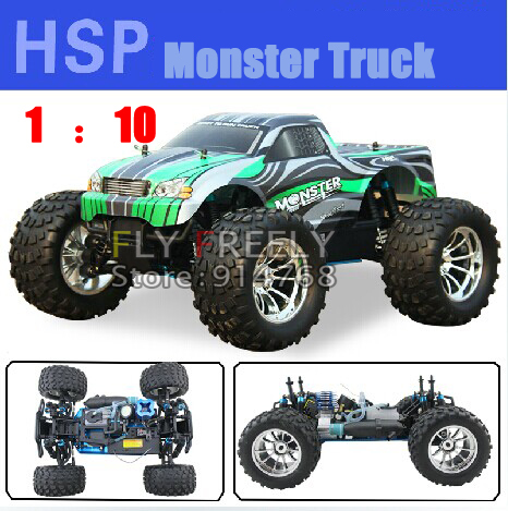 Free Shipping HSP 94188 Large Big 4WD Remote Control RC Petrol Fuel Off Road Car RC Gas Truck Monster Fashion Best PRICE(China (Mainland))