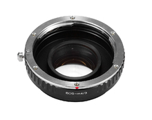 Buy Focal Reducer Speed Booster Turbo Lens Adapter Canon EF EOS Lens m4/3 mft GF5 GF6 GX1 GX7 EM5 GH4 GH3 BMPCC for $95.20 in AliExpress store