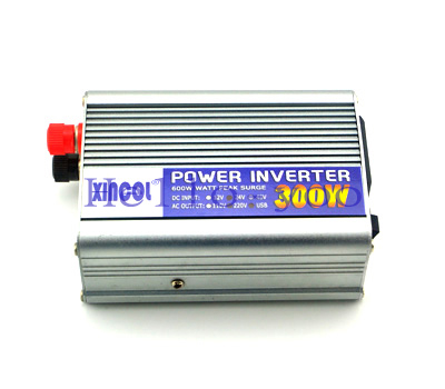1pc Modified Sine Wave DC 24V to AC 220V car auto power inverter converter adapter 300W free shipping(China (Mainland))
