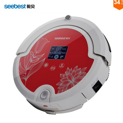 Automatic Recharge Schedule LED Screen Multifunctional Intelligent Cleaning Robot Vacuum Cleaner Sweeper with Mop Remote Control(China (Mainland))
