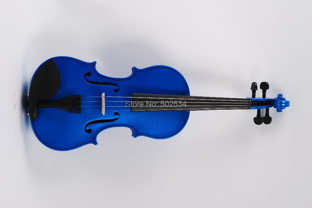 Здесь можно купить  4/4 Blue solid wood violin  Спорт и развлечения