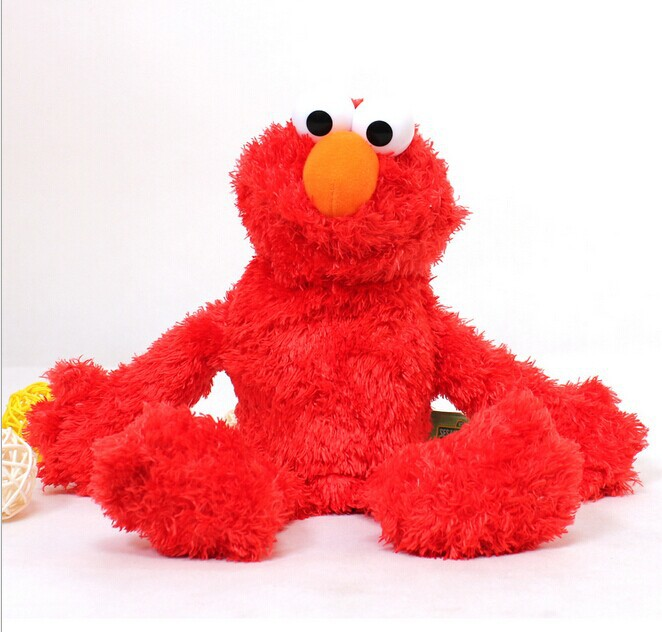 new sesame street elmo doll puppet plush toy christmas gift for child no73(China (Mainland))