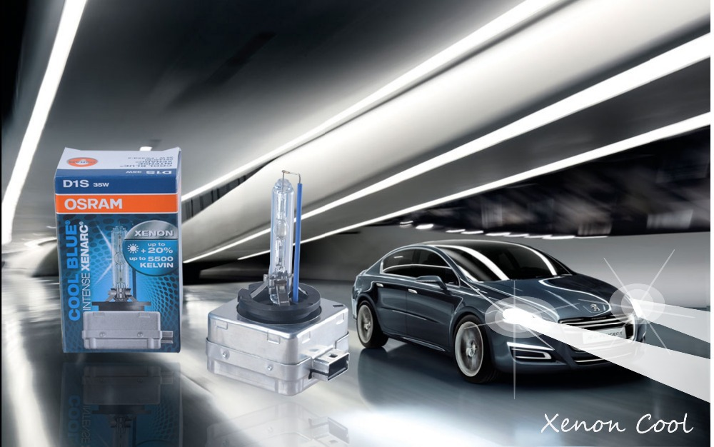 Free Shipping!!!100% Genuine of Osram 2pcs D1S 66144 CBI Xenon Bulb Lamp Light Lighting Car Headlight For 4300K 5000K 5500K(China (Mainland))