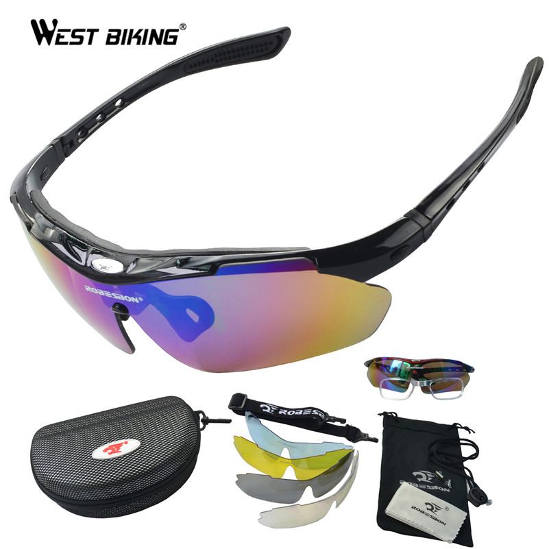 Polarized Sunglasses Set Outdoor Sports Eyewear Windproof Anti-UV Climbing Sikking Cycling Goggle Pro Road MTB Bike Eyewear Men<br><br>Aliexpress