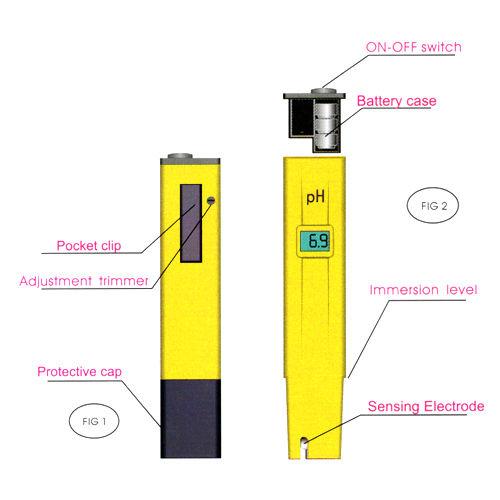 LCD Digital PH Meter Water Acid Tester Pen digital Acid Tester ph Meter Pool Water ph