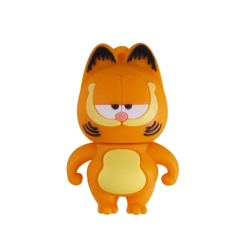 High Speed Cute Garfield USB Flash Drives USB 2.0 Pen Drive 32GB/16GB/8GB/4GB U disk(China (Mainland))