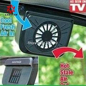 1pc Car Air Ventilation System Solar Auto Car Fans Car Cooler Cooling Fan As Seen On TV New 2015 -- PR10 MTV26