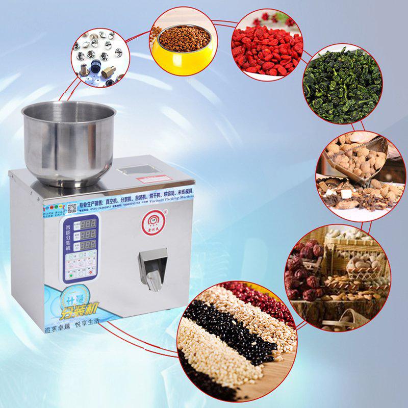 1-20g Brand Automatic Particles Quantitative Packaging Machine Weighing Machine For Tea Grain Medicine Seed Salt Powder Filler(China (Mainland))