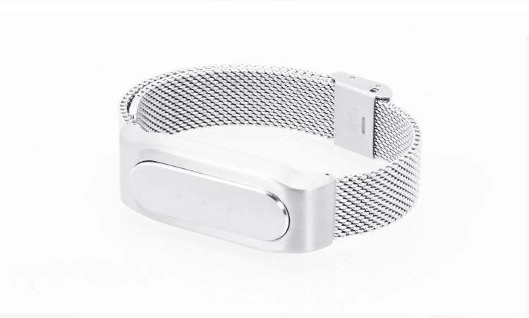 Metal Strap For Xiaomi Mi Band 2 Wristband Wearable Screwless Stainless Replace Wrist Strap Accessories band belt for Miband 2
